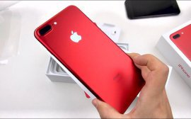 iPhone 8 и iPhone 8 Plus RED Special Edition уже в «Билайн»